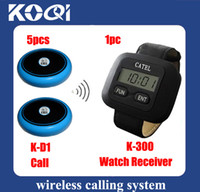 Wholesale Best selling Restaurant Call Bell System K D1 A set of pc receiver buttons