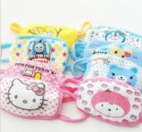 Wholesale Cartoon Children respirator Children cotton mask Children mouth muffle Boys girls Mask respirator