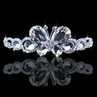 Cheap 2015 New Arrivals Graceful Wedding Bridal Dazzling Popular Crystal Veil Tiara Crown Headband