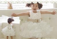 Wholesale Pendulum type sleeveless Waist Chiffon Dress retail children dress girl skit