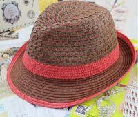 Wholesale Miami Rookie Straw hat summer Sun hat uv protection Hat cap VIVI