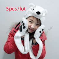 Wholesale Hot Selling Baby Fancy Dress Costume Mask Animal Hat Cap Gloves