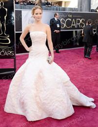 Wholesale 2013 th Oscar Academy Awards Jennifer Lawrence Celebrity Dress Formal Evening dresses