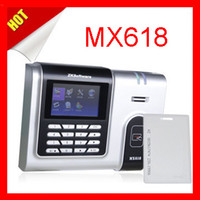 Wholesale English Spanish RusianSupported ZKsoftware MX618 Mifare IC card Time attendance with TCP IP system