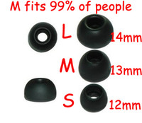 FreeShip 1000 Pairs S M L Silicone In- Ear Earphone Headset E...