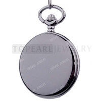 Antique antiques - Teboer Jewelry Mens Black Smooth Face Design Mechanical Pocket Watch LPW821