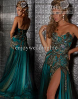 Real Photos Sweetheart Flycool 2012 Cheap Sweetheart Rhinestones Peacock Evening Gown Applique Tulle Prom Dresses md42660m
