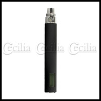 Wholesale Rechargeable Battery with LCD for EGO EGO T EGO F Electronic Cigarette E cigarette Black HB110426