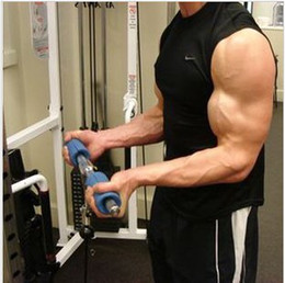 Wholesale New Fat Gripz silicone rough grip the dumbbell grip barbell grip magic handles reduce wrist stress