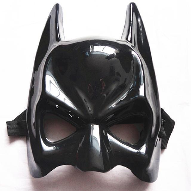 Best Factory Direct Black Half Face The Batman Mask Wholesale Custom