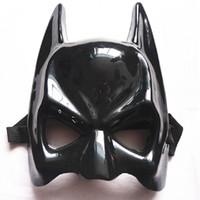 Wholesale Factory direct black half face the Batman mask custom