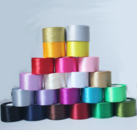 Wholesale 15 off mmDIY ribbon silk with technology Wedding gift packaging silk belt yards