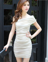 Wholesale Women sexy brand name evening dress fashion vintage dress design beige black