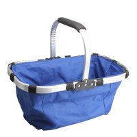Sundries market basket - Waterproof Folding Vegetable Market Tote Basket Reuseable Grocery Shopping Bag