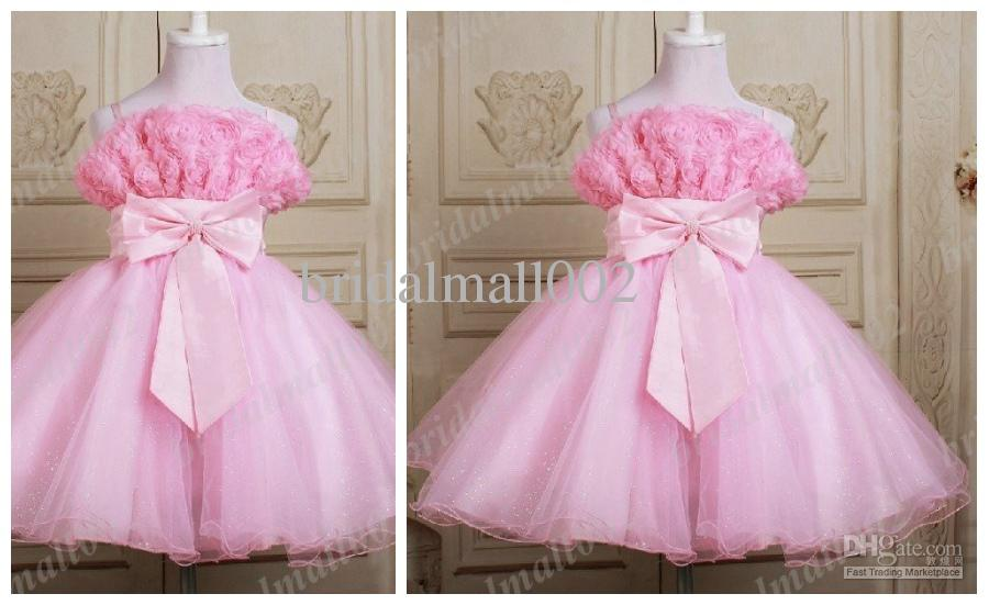 Pink Pageant Dresses For Kids Dresses For Weddings Kids Evening ...
