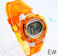Wholesale 2013 Hotest Black Pink Ladies Digital Sport Watch Light Colorful Stopwatch Alarm Waterproof to M