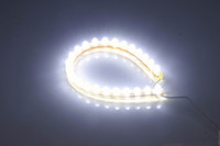 Wholesale 20pcs pvc LED white car flexible strip light V water proof strip for fish tank aquarium