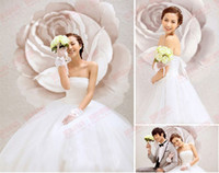 beautiful ankle strap - 2016 bridal gowns vestido de noiva plus size custom made newest women beautiful fashion pleat sweethear lace up gown wedding dress