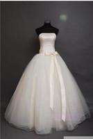 Bow big details - 159 newest bridal gowns vestido de noiva fashion big bow sweethear lace up gown wedding dress