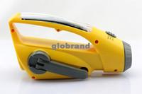 Black solar radio flashlight - GHJB208 Solar Dynamo Wind Up Torch Flashlight Charger With FM Radio SCA