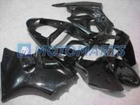 Tous noir zx6 Pour kawasaki Ninja ZX-6R 2000 2001 2002 ZX6R 636 ZX 6R 00 01 02 carénage kit RX9A