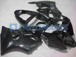 Kawasaki zx6 ninja en Ligne-Tous noir zx6 Pour kawasaki Ninja ZX-6R 2000 2001 2002 ZX6R 636 ZX 6R 00 01 02 carénage kit RX9A
