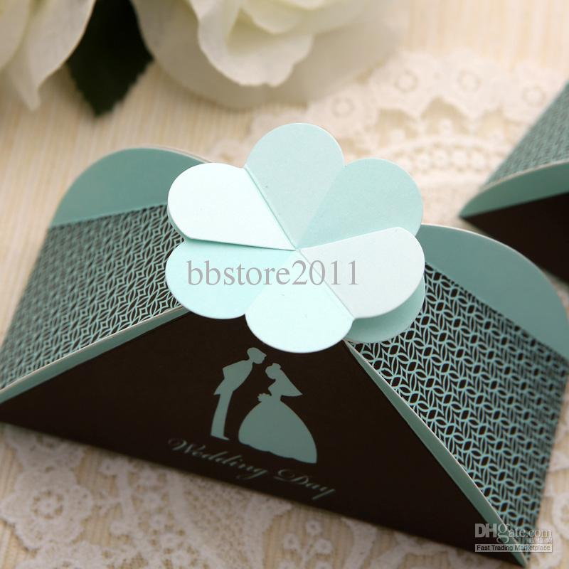 Bride And Groom Wedding Favor Boxes Gift Box Candy Box X Pink And ...