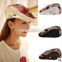 Wholesale New women s Hat Popular Baseball Caps Hip hop Cap Fashion cap beret