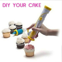 Wholesale Pocket Cupcake Cookie Cake Pastry Decorating Frosting Pen Writing Kit Tool