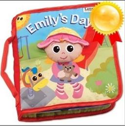 Tissu lamaze à vendre-Wholesae lamaze le Rama Zerbe livre Habitudes de livres de tissu enfants jouets Fairy tale storybook 5pcs