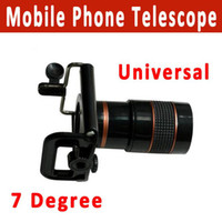 Yes Guangdong, China (Mainland)  Free Shipping 8x Zoom Optical Lens Mobile Phone Telescope Camera for Universal Phone lens+holder