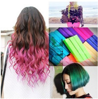 Wholesale The most popular soft hair coloring pen crayon hair coloring hair coloring chalk color bars