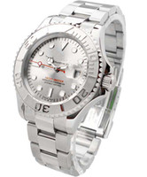 Wholesale fashion hand wind women automatic watch for man silver dial silver bezel mans watches