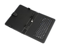 Wholesale good new USB Keyboard amp Leather Cover Case Bracket Bag for quot Tablet PC MID PDA