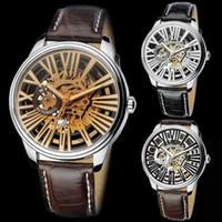 Dress eyki - New Original EYKI Top Brand Clock Men Skeleton Automatic Watch Style Drop shi