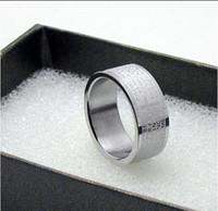 Wholesale Wu Zun titanium steel Cross Bible Men s Rings