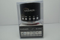 Wholesale 50pcs Music Angel Kaidaer Mini Multimedia Portable Micro SD Dard Speaker KD MN01 For Iphone5 Ipad