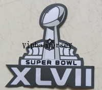 Wholesale 2013 new super bowl XLVII game Patches badge Football elite Soccer Jerseys Mix patches