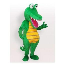 Brand new Dinosaur mascot costume Adult Size Green A124