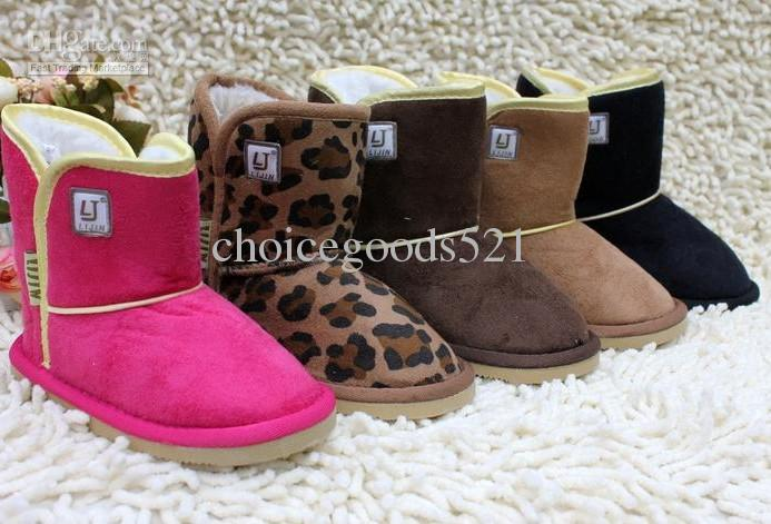 Baby Snow Boots Cheap Kids Shoes LJ Unisex Boots Warm Stable ...