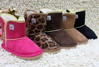 Wholesale baby Snow Boots Cheap Kids Shoes LJ Unisex Boots Warm Stable Winter Hardwearing Shoes colors