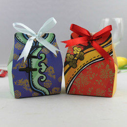 Wholesale Chinese Style Tang Suit Wedding Dress Favor Gifts Boxes Candy Bag Case Box pairs