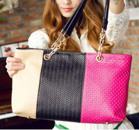 Wholesale New three color fashion handbags shoulder diagonal female bag