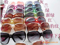 Wholesale Explosion models Taobao star with retro big box sunglasses Ladies new fashion sunglasses women fashi