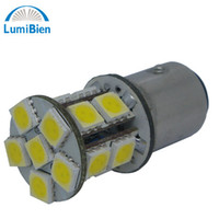 12V Front T10 50pc 12v 16led 1157 5050 white spot halogenlampe replacement home lighting led strip pin bulb lamp