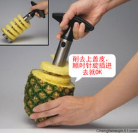 Wholesale PINEAPPLE CORER SLICER Effortlessly and slices Pineapple Corer Slicer Stainless cores steel
