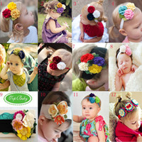 wholesale 2013 Top Baby headband hats girls' hat headband fa...