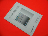 Wholesale Clear Screen Guard Protector Ward Film for Ipad ipad2 Ipad3 Tablet PC Retail Package