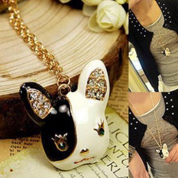 Rabbit Necklace Princess chain necklace fashion Jewelry factory price free shipping