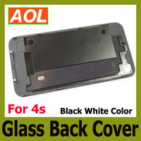 Wholesale Back Glass Battery Housing Door Back Cover Replacement Part with Flash Diffuser for s